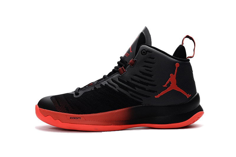Jordan Super.Fly 5 black/orangered