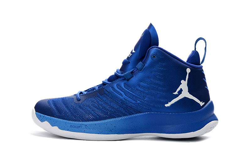 Jordan Super.Fly 5 white/blue