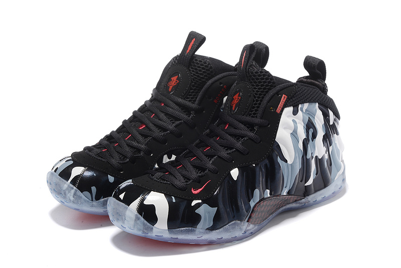 Nike Air Foamposite Pro Black/White/Red