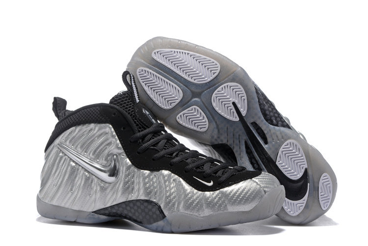Nike Air Foamposite Pro Black/Sliver I