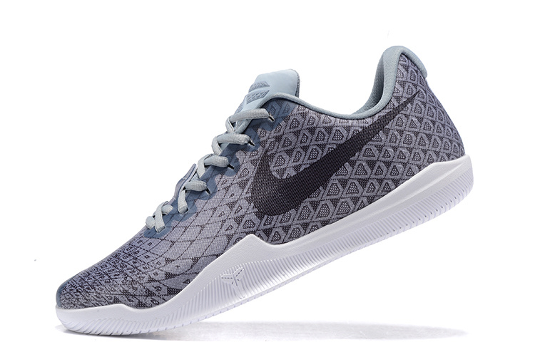 Nike Kobe 12 Grey/Black-White