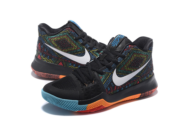6f4e4cd9b0e ... sale 4ea76 netherlands nike kyrie 3 black rainbow. larger image 6f010  db0e1 ...