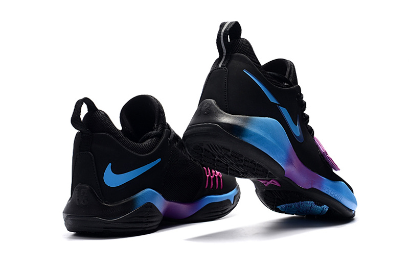 Nike PG 1 Black/Orchid/RoyalBlue
