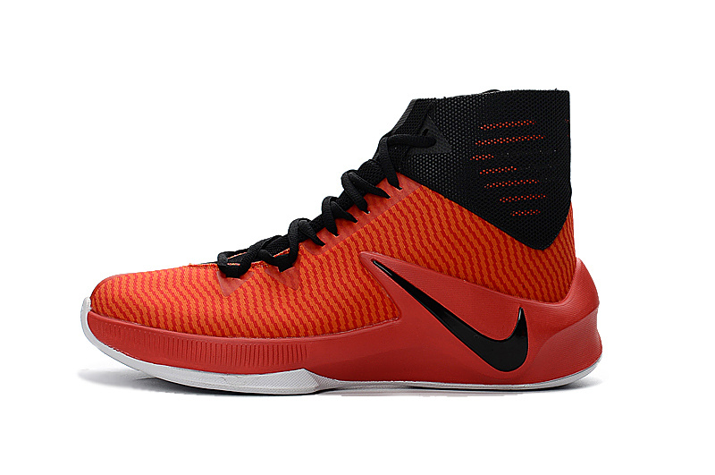 best website f5464 8c849 Nike Zoom Clear Out black red orangered larger image